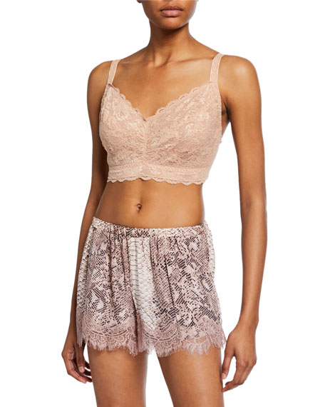 Never Say Never Curvy Lace Bralette