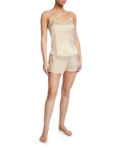 Brindisi Striped Camisole and Shorts Set