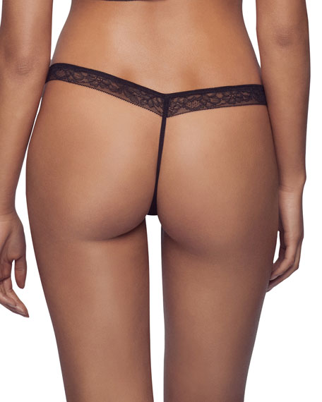 Stretch-Lace G-String Thong