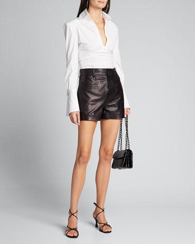 Cotton Shirt Bodysuit
