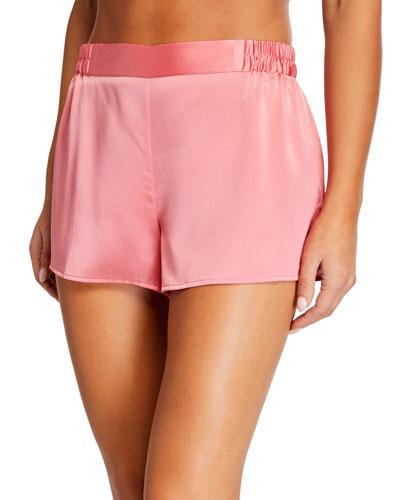 Silk Sleep Shorts