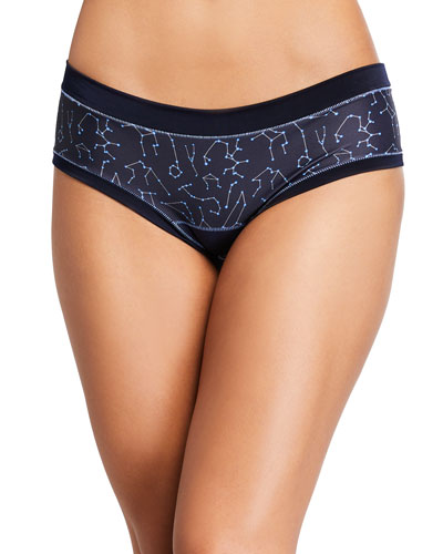 Paloma Patterned Jersey Bikini Briefs