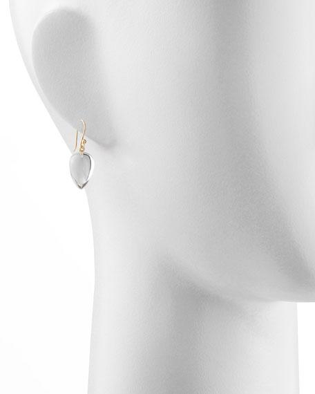 Rock Crystal Acorn Earrings