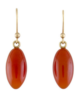 Ted Muehling Carnelian Berry Earrings