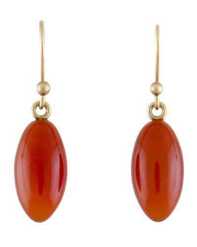 Carnelian Berry Earrings
