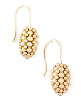 Ted Muehling Yellow Gold Raspberry Earrings