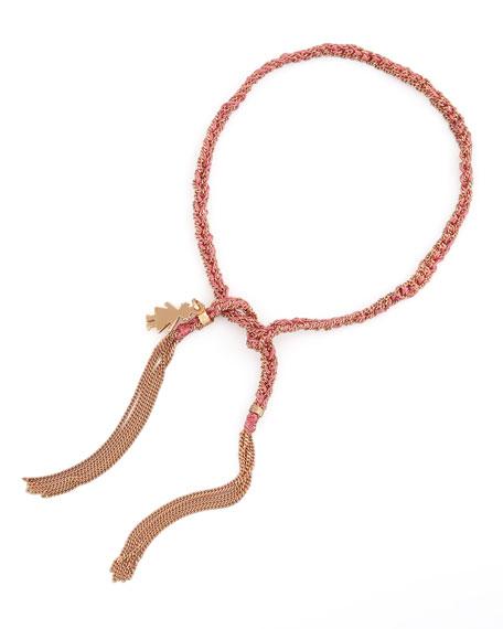 Lucky Little Girl-Charm Bracelet, Pink