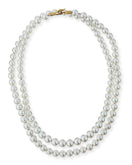 Single Strand Pearly Necklace