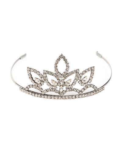 Crystal Tiara Headpiece