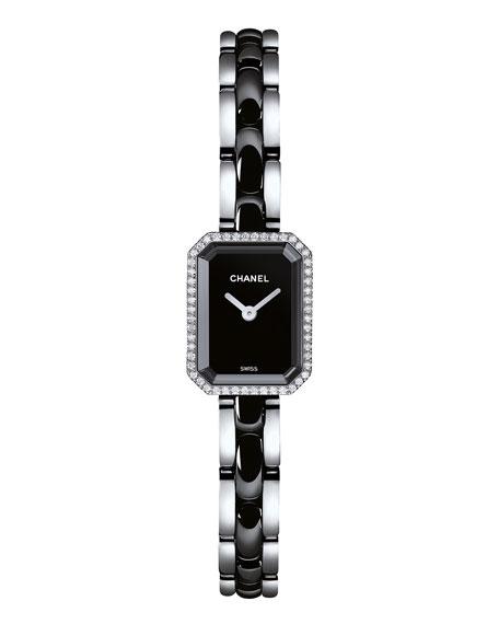 PREMIÈRE Ceramic Bracelet Watch with Diamonds