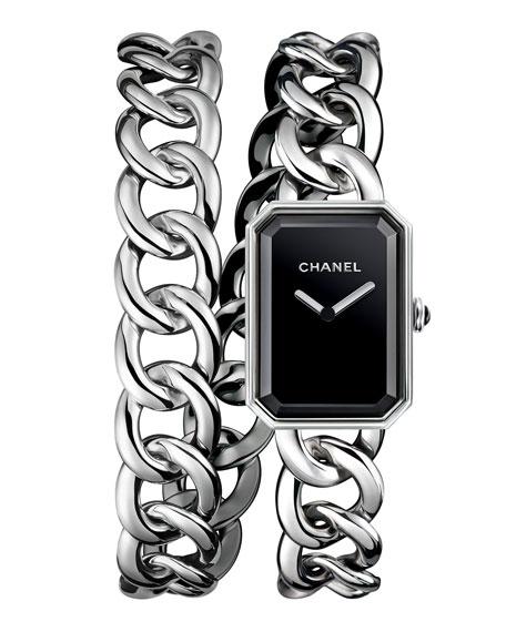 PREMIÈRE Steel Chain Wrap Watch