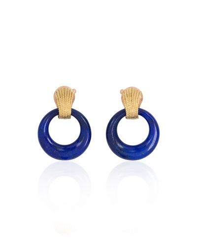 Estate Van Cleef & Arpels 18K Doorknocker Earrings with Interchangeable Hoops