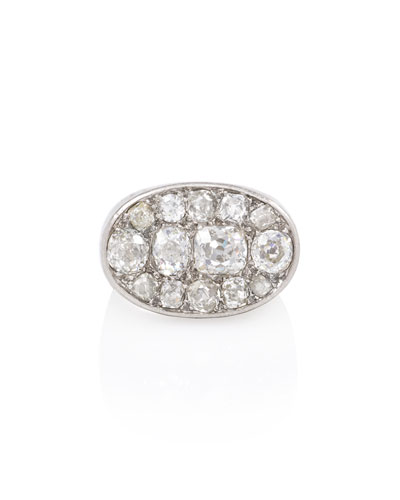 Estate Art Deco Pavé Diamond Ring