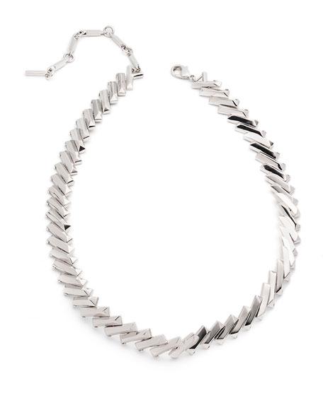 Flash Bar Choker Necklace