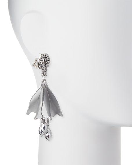 Impatiens Flower Drop Earrings