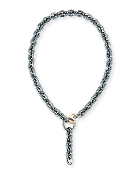 Marianne Chain Y-Drop Necklace