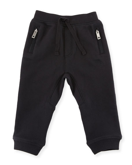 Phill Cotton Track Pants, Size 6M-3Y