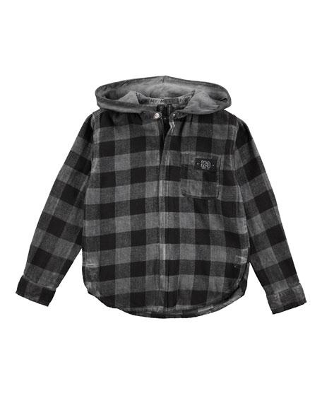 Rick Hoodie Shirt/Jacket, Sizes 4-12