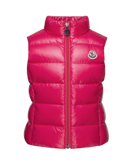 Ghany Quilted Down Vest,  Size 8-14