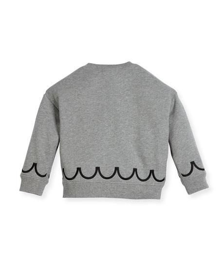 Emmie Logo Sweatshirt, Size 4-14