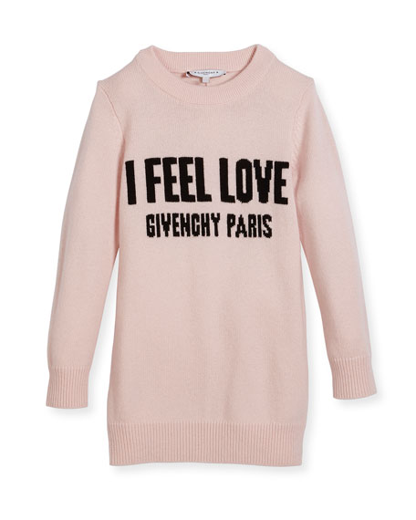 Givenchy I Feel Love Knit Dress, Size 6-10
