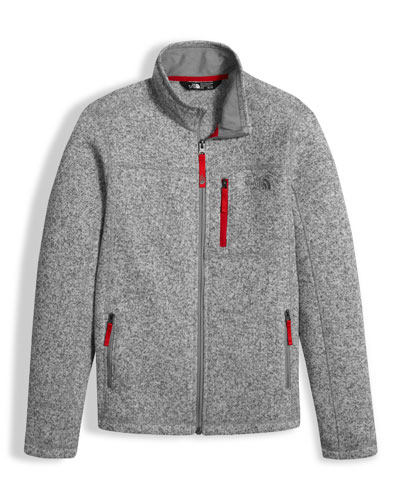 Gordon Lyons Full-Zip Jacket, Gray, Boys' Size XXS-XL