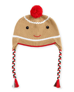 Boys' Gingerman Knit Hat