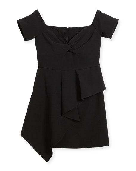 Alana Cady Off-Shoulder Dress, Size 8-16