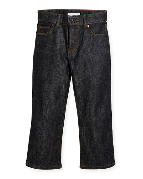 Boys' Relaxed Denim Jeans, Size 4-14