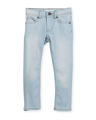 Faded Skinny Jeans  Size 4-14