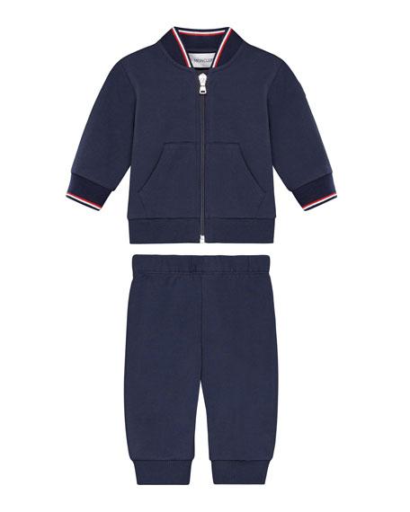 Zip-Up Cardigan w/ Joggers, Size 12M-3Y