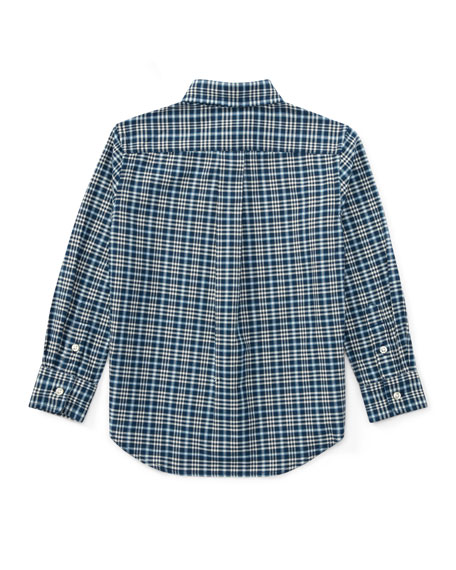 Washed Oxford Button-Down Shirt, Size 2-4