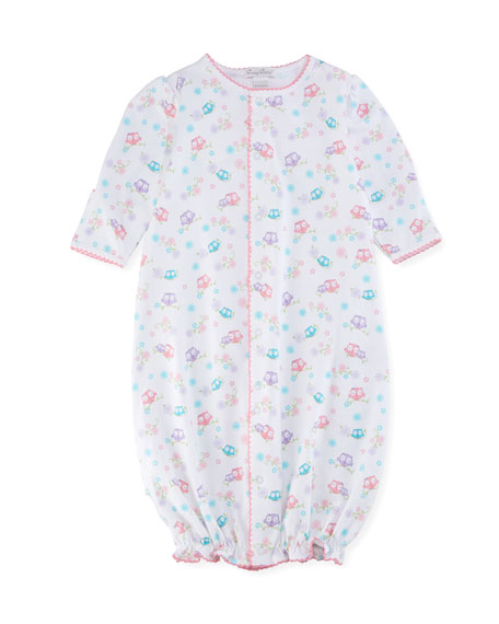 4b5185309 Kissy Kissy What A Hoot Convertible Pima Gown, Size Newborn-Small