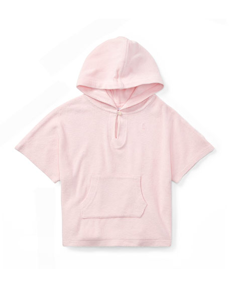 Terry Hooded Swim Coverup, Size 9-24 Months