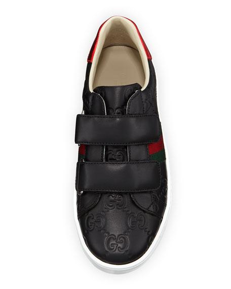 GG Supreme Leather Sneakers, Toddler/Kids