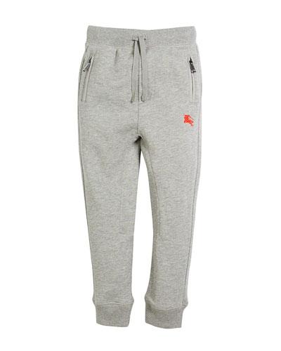 Phill Logo-Sides Sweatpants, Size 4-14