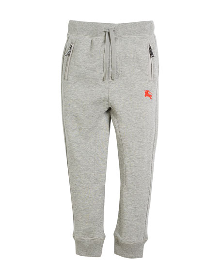 Phill Logo-Sides Sweatpants, Size 4-14