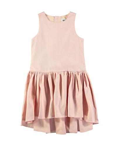 Candece Sleeveless Drop-Waist Dress, Size 3T-12