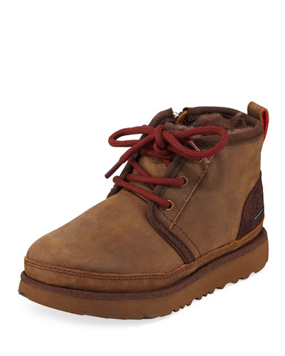 Neumel II Waterproof Lace-Up Boots  Toddler