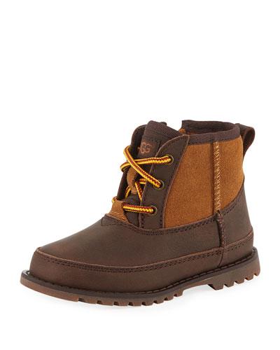 Bradley Suede & Leather Waterproof Boots  Kids