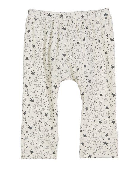 Brooklyn Star-Print Leggings, Size 6-24 Months
