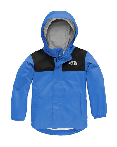 Tailout Two-Tone Rain Jacket, Size 2-4T
