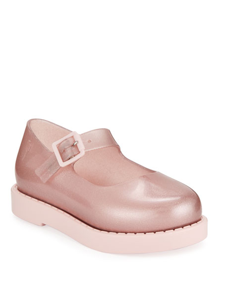 Mini Melissa Maggie Shimmery Mary Jane Flats, Toddler