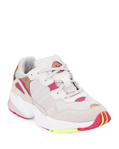 9e18a50c28805 Girls  Yung-96 Colorblock Sneakers Kids Quick Look. Adidas