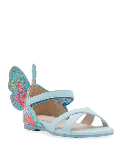 Chiara Embroidered Butterfly Sandals  Toddler
