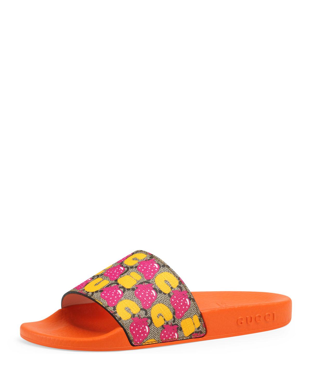 GG Supreme Slide Sandals, Toddler/Kids