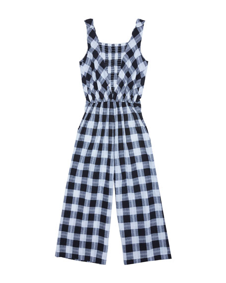 dcce4b8b98 Habitual Kasie V-Neck Plaid Jumpsuit