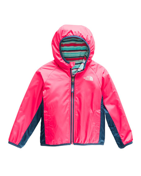 Image 1 of 1: Reversible Hooded Jacket, Size 2-4T