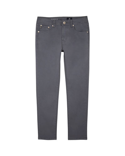 Boys' Stryker Luxe Slim Straight Sueded Twill Pants  Size 8-14