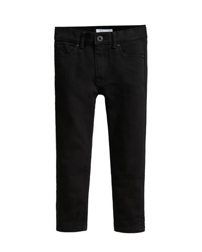 Black Denim Skinny Jeans  Size 3-14